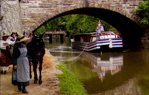 C&O Canal Boat