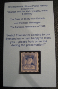 Walt Whitman stamp