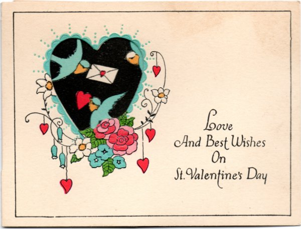 Valentine from the greeting card collection