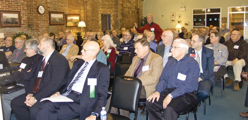 Attendees at the Fourth Annual Postal History Symposium at the APC