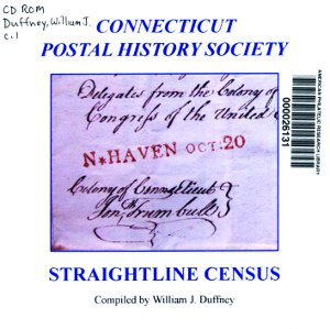 Connecticut Postal History Society Straightline census