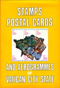 Stamps, postal cards and aerogrammes of Vatican city state