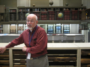 Richard Boardman shows us around the map collection