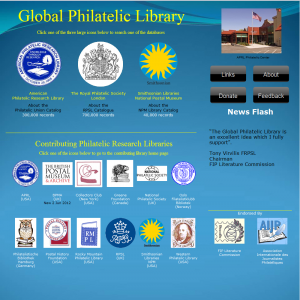 Global Philatelic Library