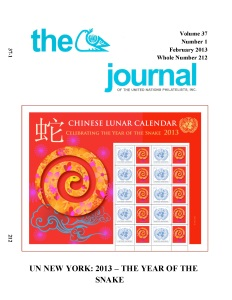Journal of United Nations Philatelists