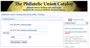 Philatelic Union Catalog