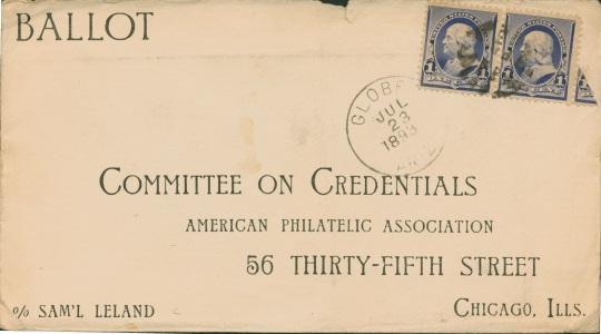 1873 APA ballot cover