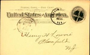 1895 APA dues receipt