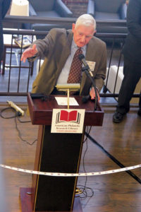 Ambassador Robert E. Lamb, former APS executive director.