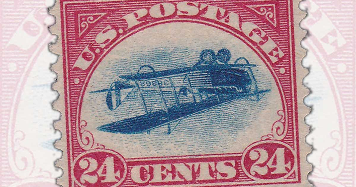 Robert A. Siegel Auction Galleries to Sell Recovered Inverted Jenny Stamp