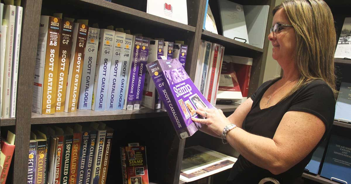 Krystal Harter: an expert at turning donations into library resources