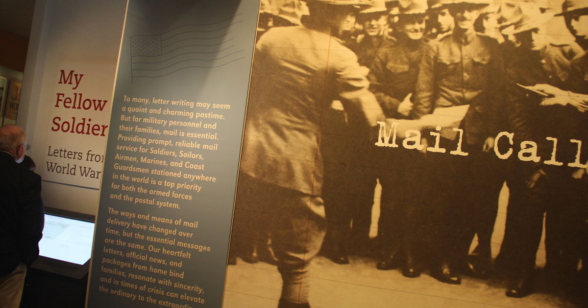 National Postal Museum opens Letters from World War I exhibit