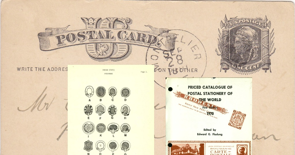 Resource of the Month: Higgins & Gage postal stationery catalog