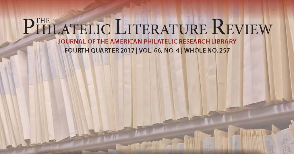 Philatelic Literature Review 4th quarter issue features postal rates, an Australian philatelic library, and more